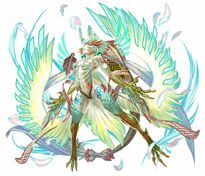 FFLTnS Garuda God Artwork