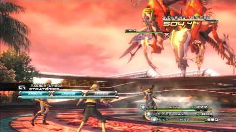 Final Fantasy XIII Combat contre Subjugueur Ushumgal 2