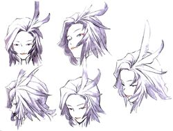Kuja Faces FFIX Art