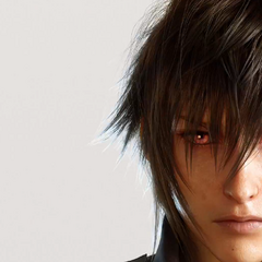 Noctis with red eyes.