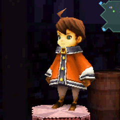 Orange Outfit in <i>Final Fantasy Crystal Chronicles: Ring of Fates</i>.
