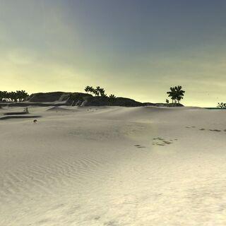 The sandy dunes of Valkurm.
