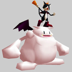 Battle render from the <i>Final Fantasy VII Ultimania Omega</i>.