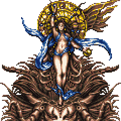 Goddess (Super Famicom/PS).