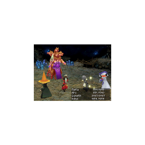 Queen Scylla as she appears in the DS version.
