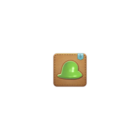 La mascota Slime Puddle obtenible en Copperbell Mines (Hard).