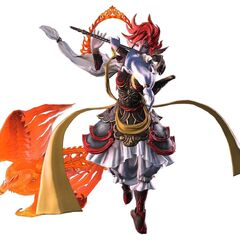 Suzaku (battle form render)