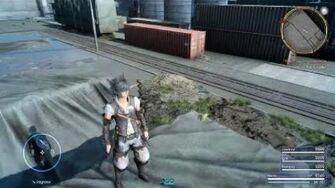 Final Fantasy XV × Final Fantasy XIV-Collaboration Allagan Tomestone All Location