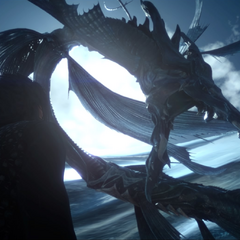 Leviathan summoned in Lucis.