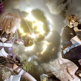 Lightning and Noel fight.