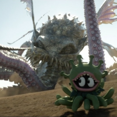 Malbuddy and Ultros in
