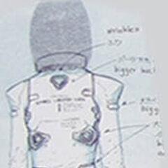 Aki's suit concept (rear).