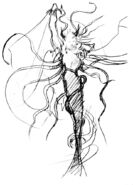 Cloud of Darkness Amano Sketch 1