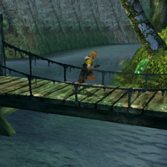 The bridge in <i>Final Fantasy X</i>.