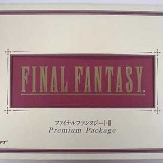 The original Japanese release, called <i>Final Fantasy I</i> & <i>II Premium Package</i>.