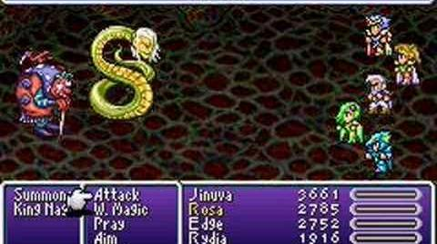 Final Fantasy IV Advance Summons- Leviathan