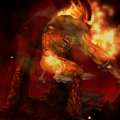 Sephiroth defeats Ifrit.
