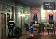 Squall offers ro go in Caraways Mansion from FFVIII R