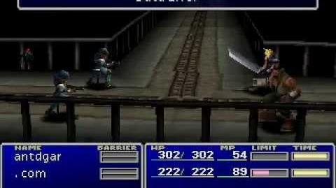 Emerald Weapon countdown glitch