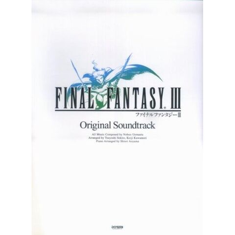 <i>Final Fantasy III Original Soundtrack Piano Solo Sheet Music</i>.