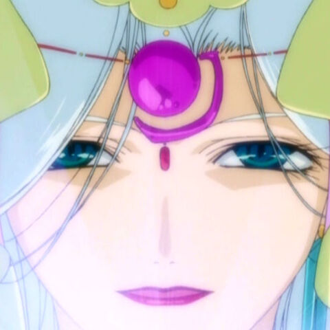 Fabula's face, as seen in the episode introductions.