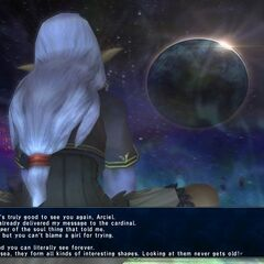 Abyssea-Prishe watching over Abyssea.