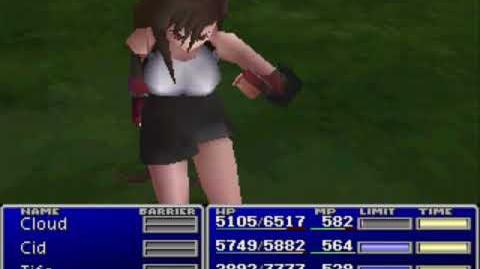 Final Fantasy VII - All Lucky 7s While Petrified