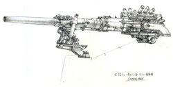Junon Sister Ray FFVII Sketch