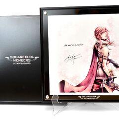 Изображение Лайтнинг работы Номуры, разосланное избранным членам клуба Square Enix Members.