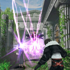 Ultimecia transfers her powers.