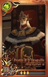 FF11 Destin R D'Oraguille R+ L Artniks