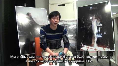 FINAL FANTASY XV - анонс русской локализации