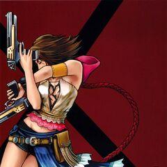 Arte promocional feita por Tetsuya Nomura.