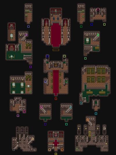 Figaro Castle Interior Map