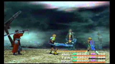 Final Fantasy 10 - Boss 38 - Schwarzer Ixion Dark Ixion 1
