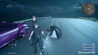 Final Fantasy XV (PS4) Aranea Glitch (Keeping Aranea In Your Party On Version 1.12)