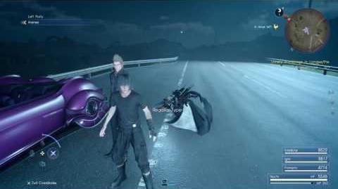 Final Fantasy XV (PS4) Aranea Glitch (Keeping Aranea In Your Party On Version 1