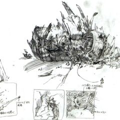 Gongaga reactor concept art.