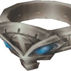 Reks's ring, bearing the same emblem on his and Vaan's necklaces.