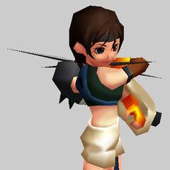 Боевой рендер из <i>Final Fantasy VII Ultimania Omega</i>.