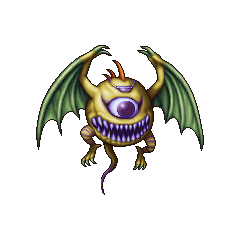 PSP sprite of Ahriman in <i>Final Fantasy</i> and <i>The After Years</i>.