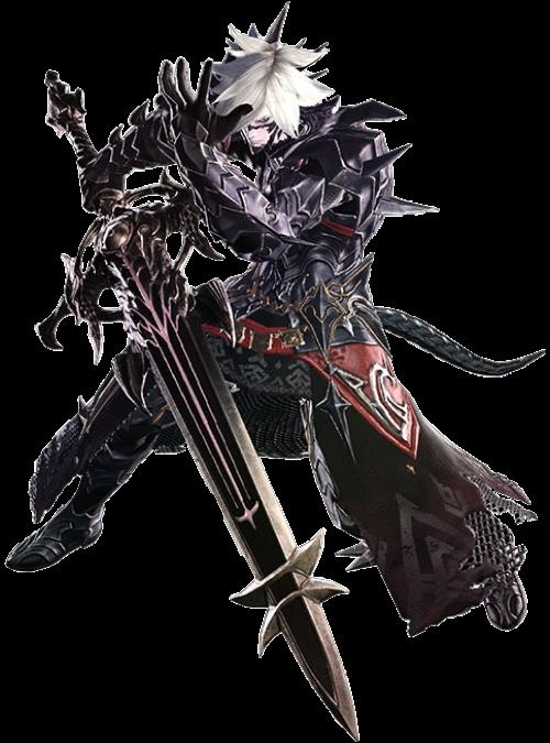 Final Fantasy Dark Knight Art