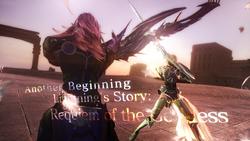 FFXIII-2 Requiem of the Goddess Scenario