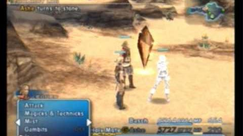 FFXII - Activating the Dead Character Glitch