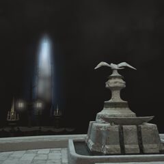 Stone with Llymlaen's symbol <i>Final Fantasy XIV</i>.