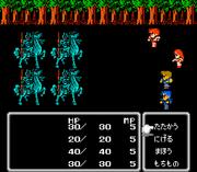 Final Fantasy II batalha jap
