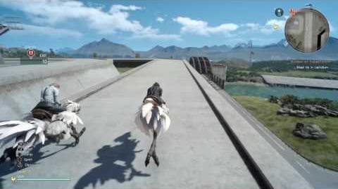 Final Fantasy XV v1.00 Old Lestallum glitch