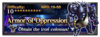 FFBE Armor of Oppression
