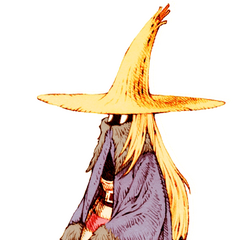 Female Black Mage.