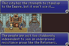 FFVI GBA Arvis talking to Locke